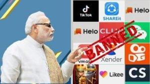 China Modi apps